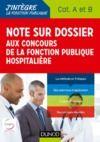 Livre numérique Note sur dossier aux concours de la fonction publique hospitalière