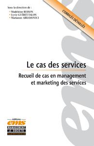 Electronic book Le cas des services
