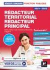 Livre numérique Réussite Concours - Rédacteur territorial/Rédacteur principal - 2021-2022 - Préparation complète