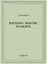 Libro electrónico Battling Malone, pugiliste