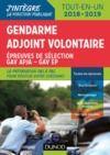 Livre numérique Gendarme adjoint volontaire - 2018-2019