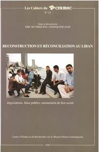 Electronic book Reconstruction et réconciliation au Liban