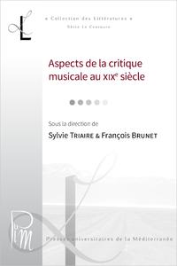 Livre numérique Aspects de la critique musicale au XIXe siècle