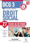 Electronic book DCG 3 Droit social - 2e éd. - Fiches de révision