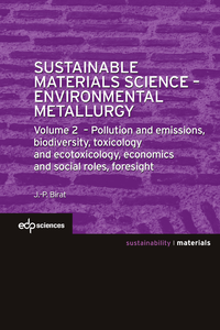 Electronic book Sustainable Materials Science - Environmental Metallurgy