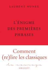 Livre numérique L'énigme des premières phrases