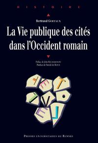 Livre numérique La vie publique des cités dans l'Occident romain