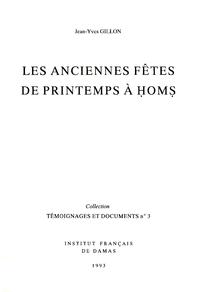 Electronic book Les anciennes fêtes de printemps à Ḥomṣ