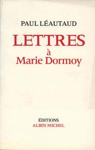 Livre numérique Lettres à Marie Dormoy