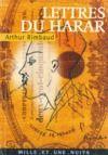 Livre numérique Lettres du Harar