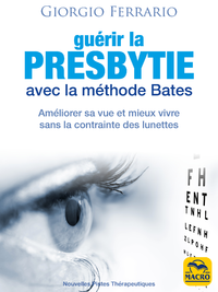 Electronic book Guérir la presbytie avec la méthode Bates