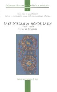 Livre numérique Pays d'Islam et monde latin