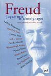 Livre numérique Freud. Jugements et témoignages