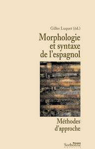 Electronic book Morphologie et syntaxe de l'espagnol