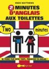 Livre numérique 2 minutes d'anglais aux toilettes
