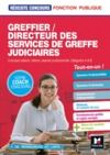 Livre numérique Réussite Concours - Greffier/Directeur des services de greffe judiciaires - Préparation complète