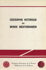 Livre numérique Géographie historique du monde méditerranéen