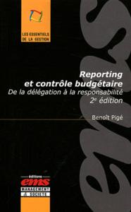 Livre numérique Reporting et contrôle budgétaire