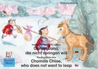 Livre numérique Die Geschichte von der kleinen Gämse Jana, die nicht springen will. Deutsch-Englisch. / The story of the little Chamois Chloe, who does not want to leap. German-English