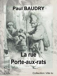 Livre numérique La rue Porte-aux-rats