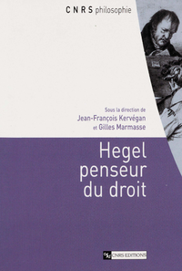 Livre numérique Hegel penseur du droit