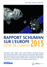 Livre numérique Etat de l'Union 2015, rapport Schuman sur l'Europe