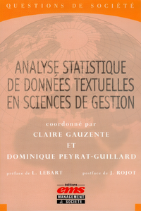 Livre numérique Analyse statistique de données textuelles en sciences de gestion
