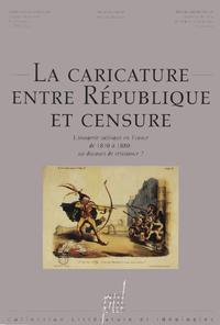 Livre numérique La Caricature entre République et censure