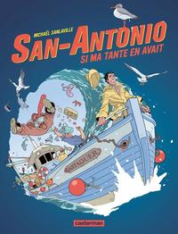 Livre numérique San-Antonio (Tome 2) - Si ma tante en avait