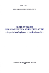 Livre numérique École et Église en Espagne et en Amérique Latine