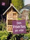 Livre numérique Des insectes en ville