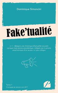 Livre numérique Fake'tualité