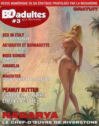 Electronic book BD-Adultes - Revue numérique de BD érotique #3