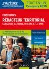 Livre numérique Concours Rédacteur territorial. Externe, interne et 3e voie.