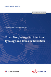 Electronic book Urban Morphology, Architectural Typology and Cities in Transition