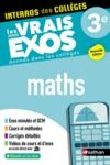 Livre numérique Maths 3e - Interros des collèges - Les vrais exos - des centaines d'exercices avec corrigés détaillés - Brevet 2022
