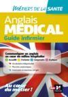 Livre numérique Anglais médical - guide infirmier