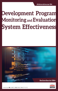 Electronic book Development Program Monitoring and Evaluation System Effectiveness