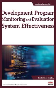 Livre numérique Development Program Monitoring and Evaluation System Effectiveness