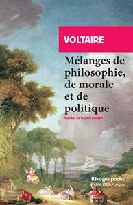 Livre numérique Mélanges de philosophie, de morale et de politique