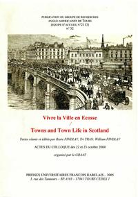 Livre numérique Vivre la Ville en Écosse