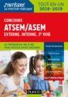 Livre numérique Concours ATSEM/ASEM - Externe, interne, 3e voie