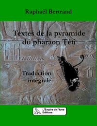 Livre numérique Textes de la pyramide du pharaon Téti