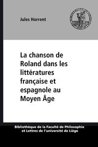 Livre numérique La chanson de Roland dans les littératures française et espagnole au Moyen Âge