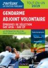 Livre numérique Gendarme adjoint volontaire - 2019