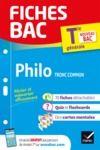 E-Book Fiches bac Philosophie Tle (tronc commun)