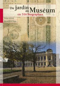 Livre numérique Du Jardin au Muséum en 516 biographies