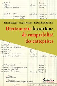 Livre numérique Dictionnaire historique de comptabilité des entreprises
