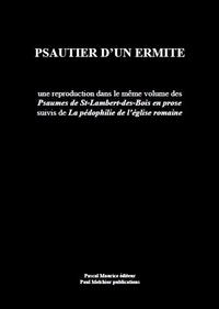 Livre numérique Psautier d'un ermite