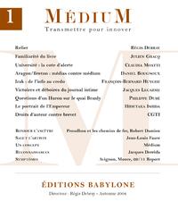 Livro digital Médium n°1 - Automne 2004